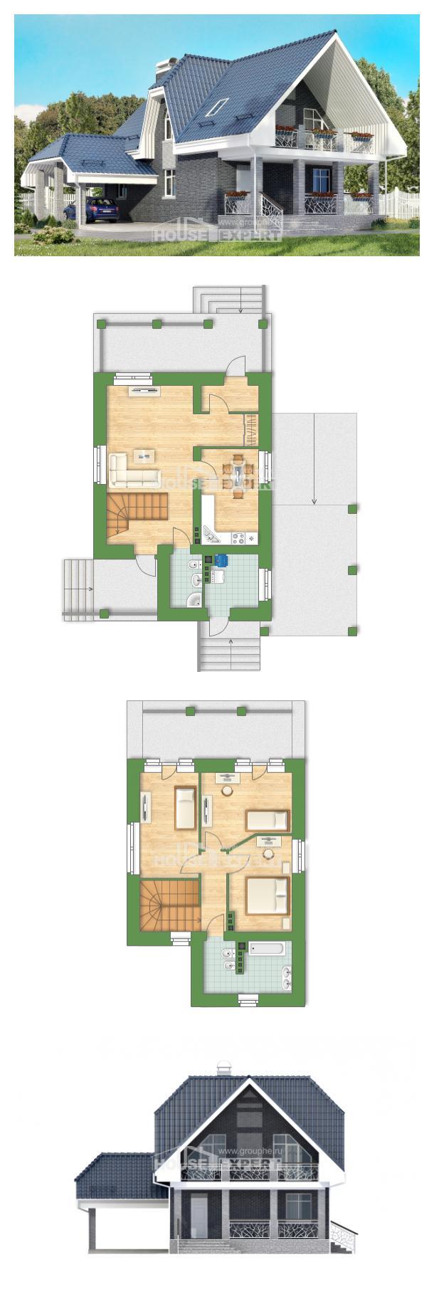 Проект дома 125-002-Л   House Expert