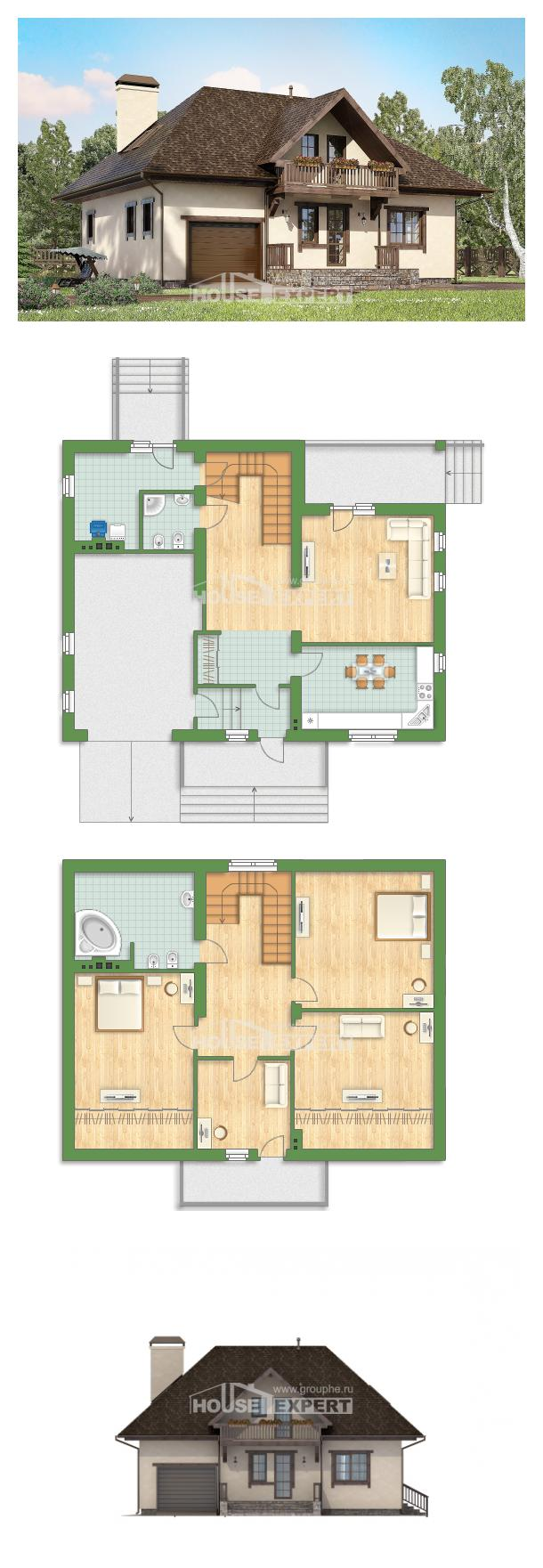 Проект дома 200-001-Л   House Expert