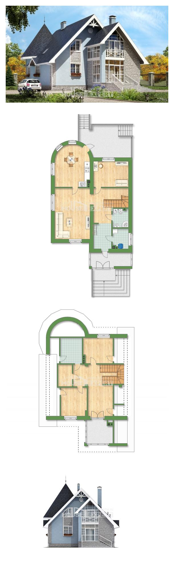 Проект дома 170-003-П | House Expert