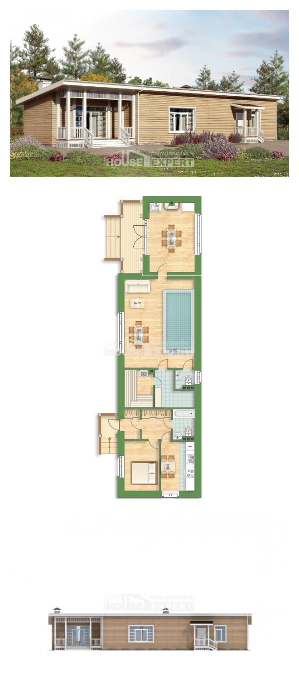 Проект дома 110-004-Л | House Expert