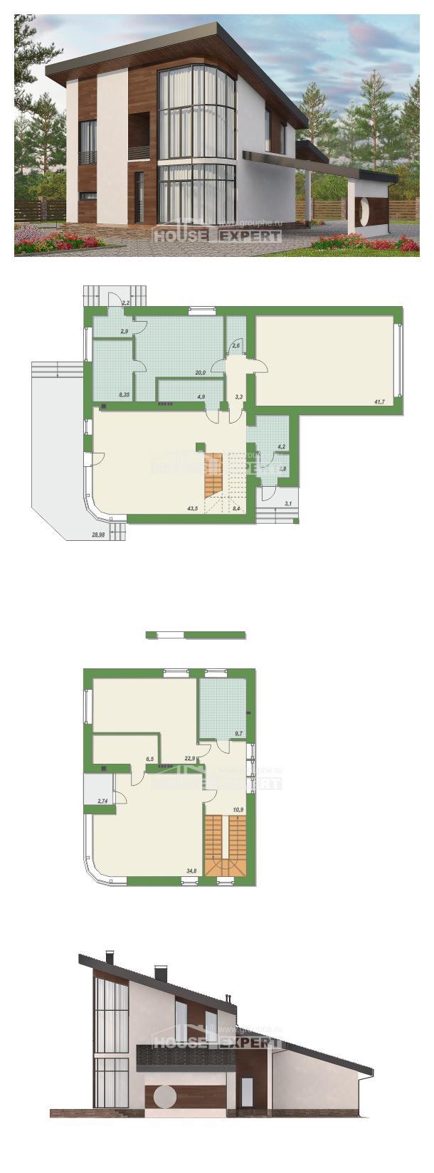 Проект дома 230-001-П | House Expert